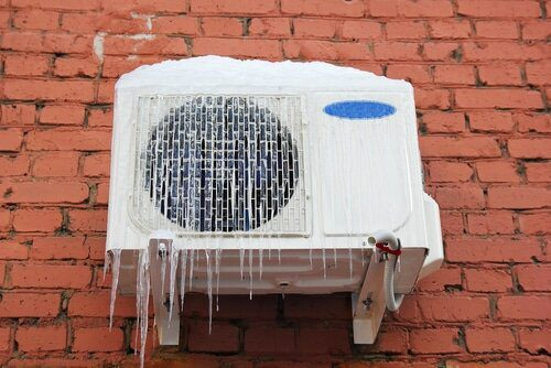 Should you cover the air conditioner in winter