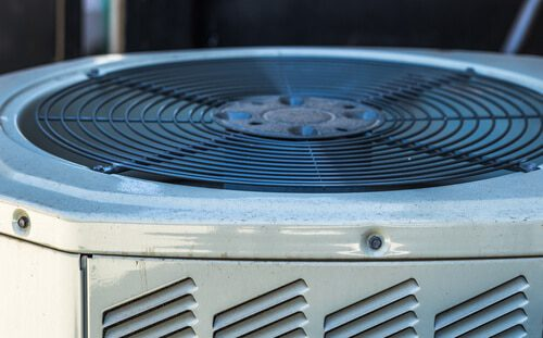 What causes an AC fan to stop working
