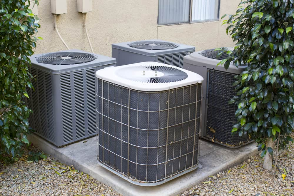How long does it take to install a condenser unit